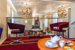 lobby hotel 3 etoiles chateaubriant stephane leludec